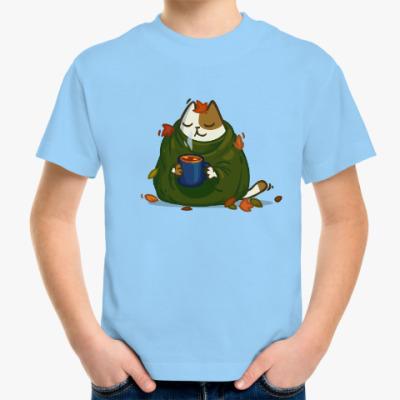 Детская футболка Пятничный Котик №23