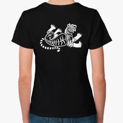 Женская футболка Скифский тигр