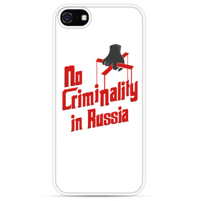 Чехол для iPhone No Criminality in Russia