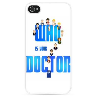 Чехол для iPhone Кто твой Доктор?