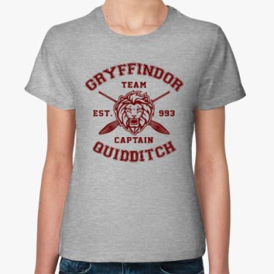 Женская футболка Gryffindor Quidditch Team