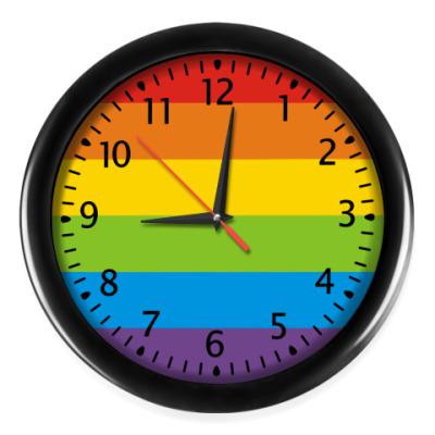 Настенные часы Радуга