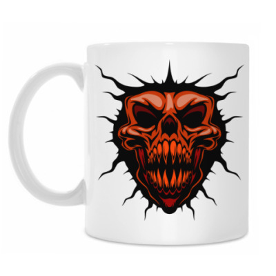 Кружка Evil Skull