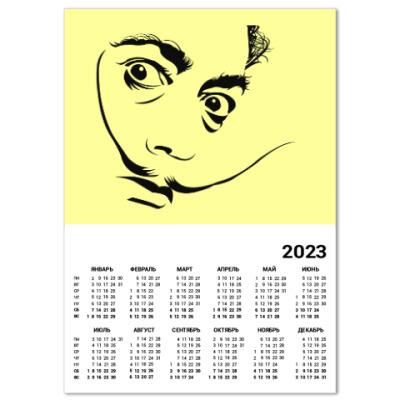 Календарь Сальвадор Дали