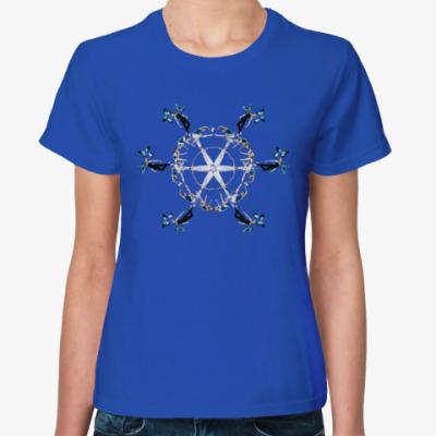 Женская футболка 'Танец-медитация'