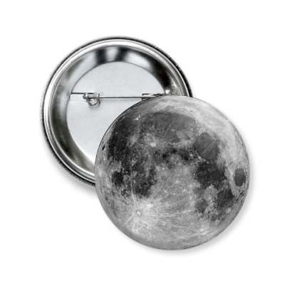 Значок 50мм The Moon