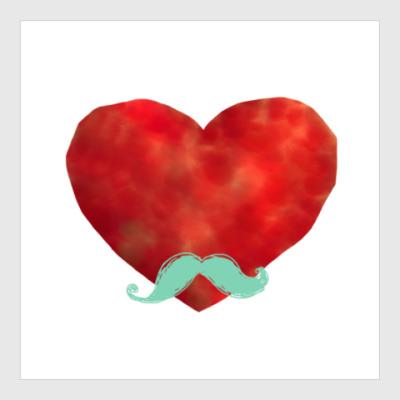 Постер Heart like a sir