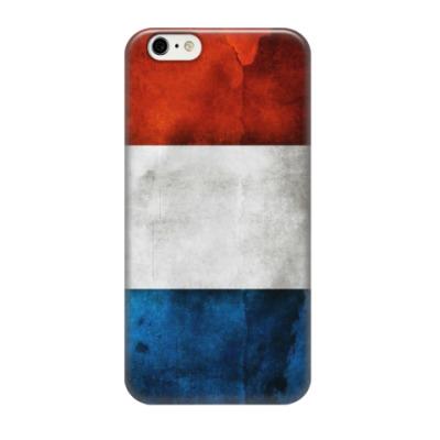 Чехол для iPhone 6/6s Флаг Франции