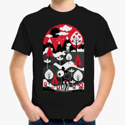 Детская футболка Храбрый Ди