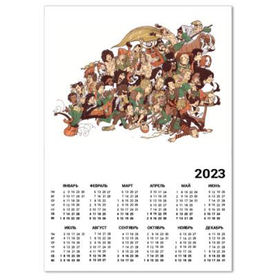 Календарь Rock