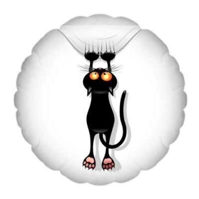 Подушка Черная кошка