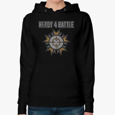 Женская толстовка худи Ready 4 Battle