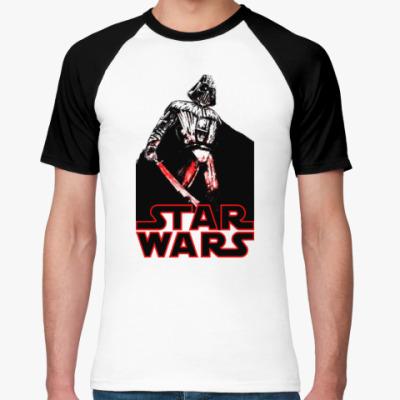 Футболка реглан Darth Vader (Дарт Вейдер)