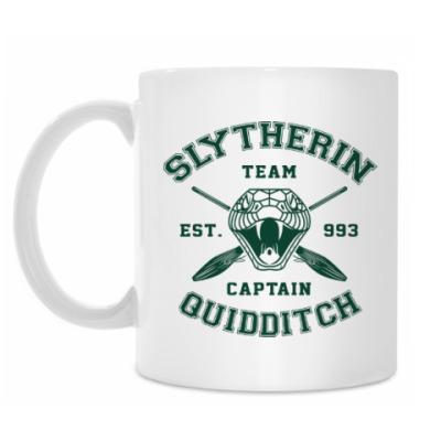Кружка Slytherin Quidditch Team