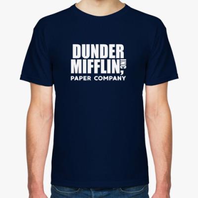 Футболка Dunder Mifflin / The Office