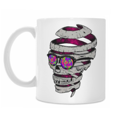 Кружка Psychodelic Skull