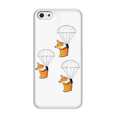 Чехол для iPhone 5/5s смешные собаки корги