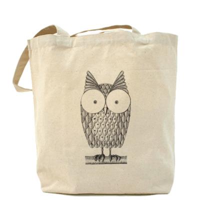 Сумка Холщовая сумка Owl