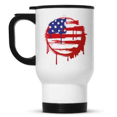 Кружка-термос Американский флаг