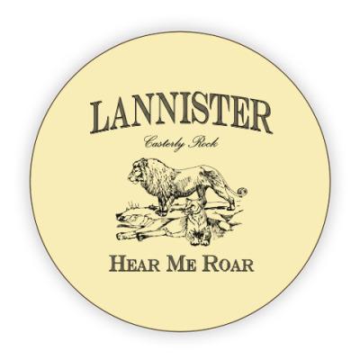 Костер (подставка под кружку) Lannister