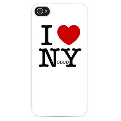 Чехол для iPhone I love nobody