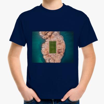 Детская футболка Во мне футбол