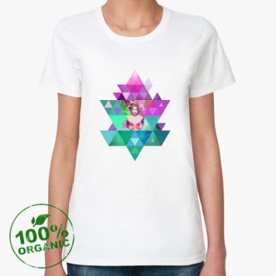 Женская футболка из органик-хлопка 'HIPSTA SWAG' collection: Madonna