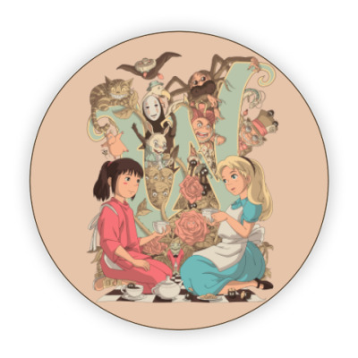 Костер (подставка под кружку) Wonderland Alice and Chihiro