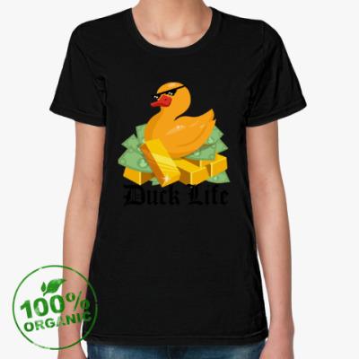 Женская футболка из органик-хлопка Duck Life