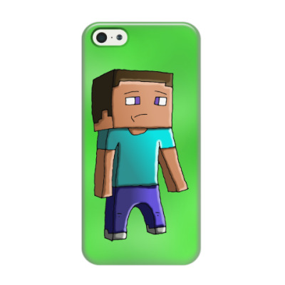 Чехол для iPhone 5/5s Minecraft Steve