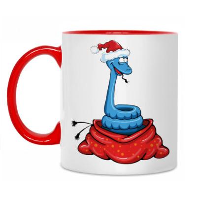 Кружка Змея символ 2013