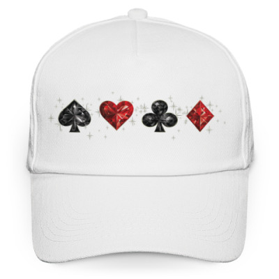 Кепка бейсболка Poker style