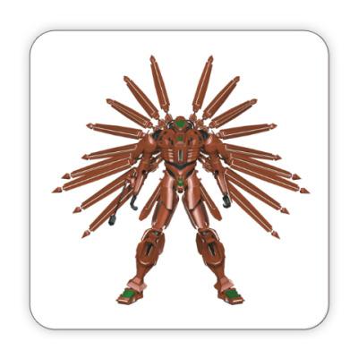 Костер (подставка под кружку) Робот