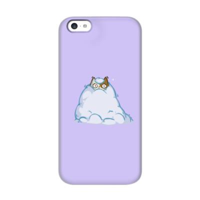 Чехол для iPhone 5c Снегокот — Пятничный Котик №40