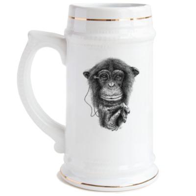 Пивная кружка Monkey