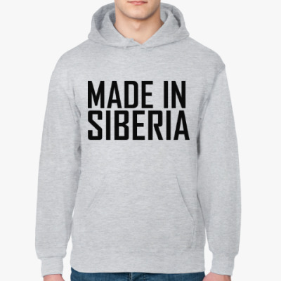 Толстовка худи Made in Siberia