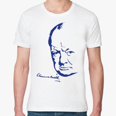 Футболка из органик-хлопка Winston Churchill