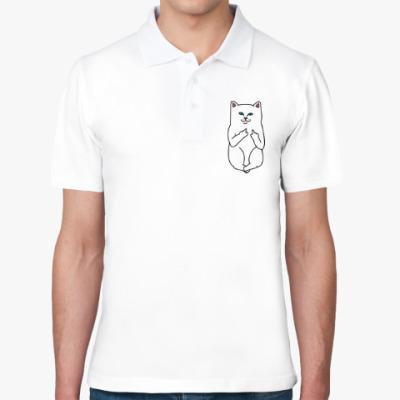Рубашка поло Kitty with fuck
