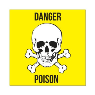 """Наклейка (стикер)   """"Poison"""""""