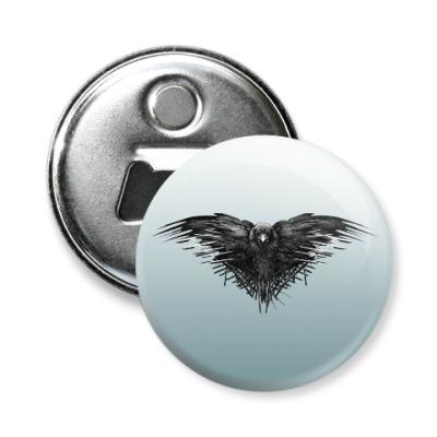 Магнит-открывашка Игра Престолов: Ворон