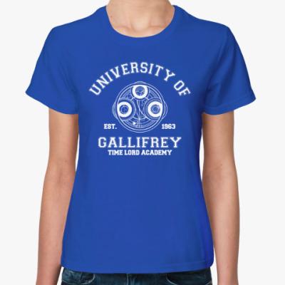 Женская футболка University of Gallifrey