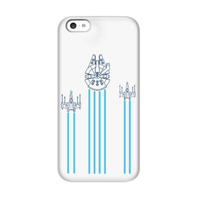 Чехол для iPhone 5c звёздные войн (Star wars)