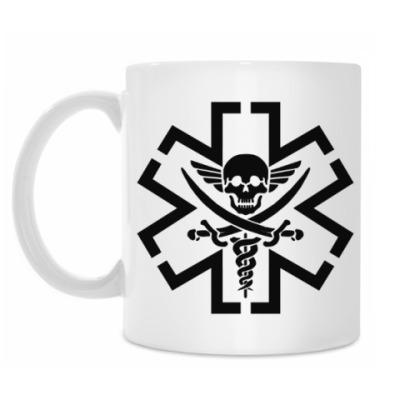 Кружка Медик Пират. Тактический.