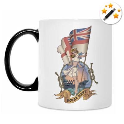 Кружка-хамелеон Royal Navy