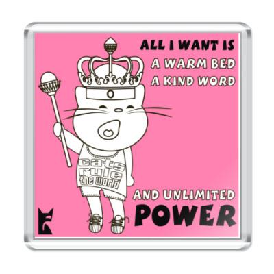 Магнит CAT's POWER!