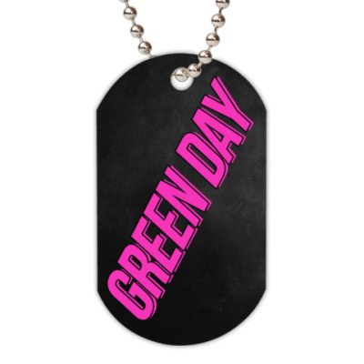 Жетон dog-tag Green Day