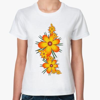 Классическая футболка Огнецветы