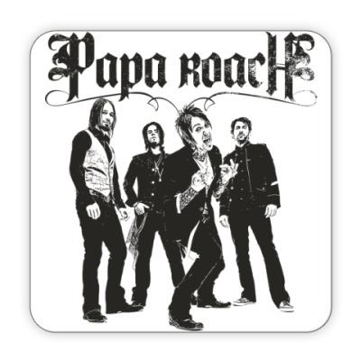 Костер (подставка под кружку) Papa Roach Group