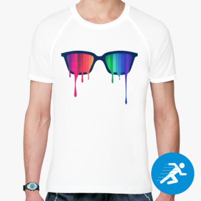 Спортивная футболка Хипстер: очки
