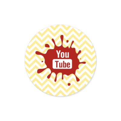 Виниловые наклейки YouTube